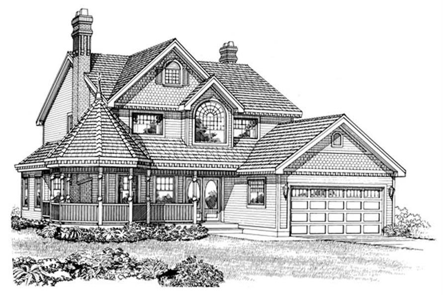 Main image for house plan # 7190