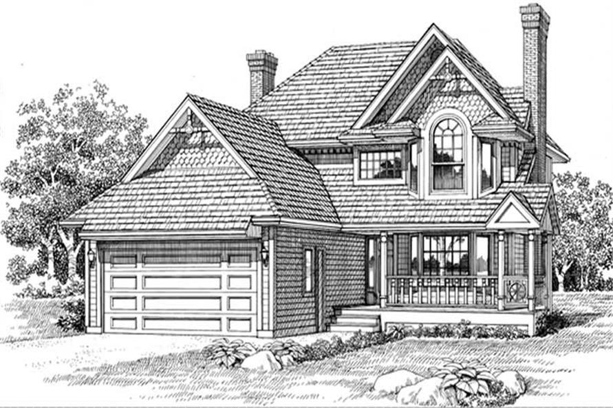 Main image for house plan # 7177