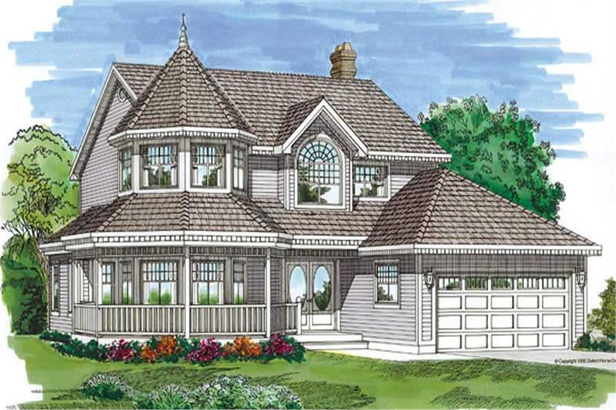 Main image for house plan # 7197