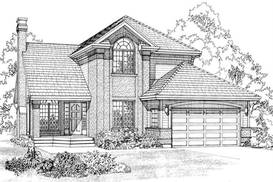 Main image for house plan # 7200