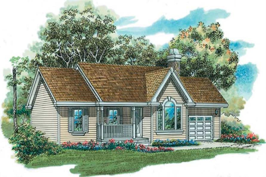 Main image for house plan # 7245