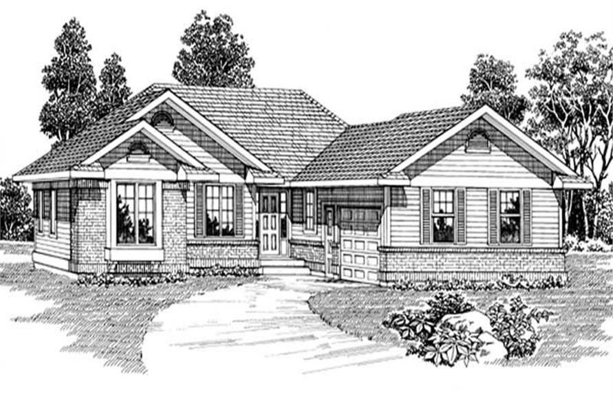 Main image for house plan # 7150
