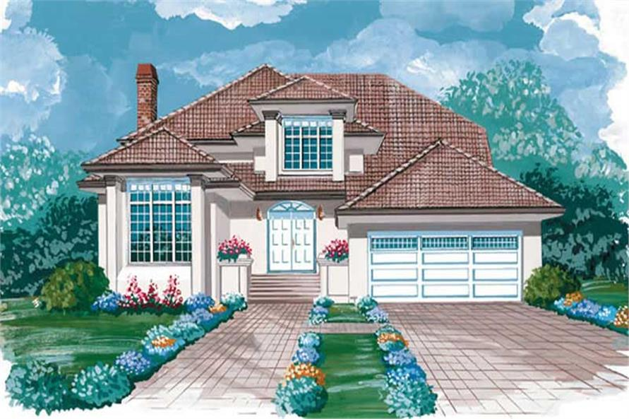 Main image for house plan # 7090