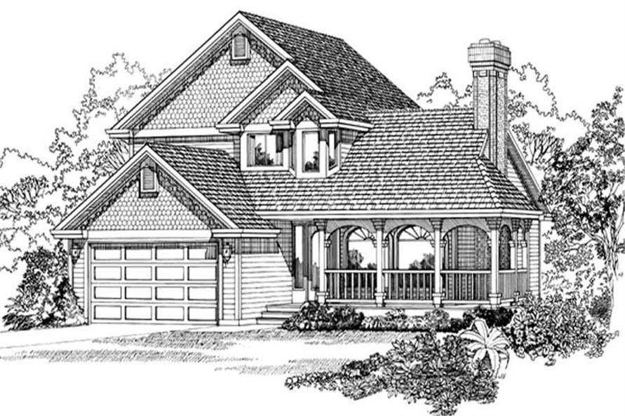 Main image for house plan # 7167