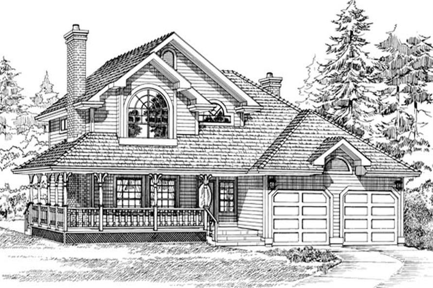 Main image for house plan # 7173