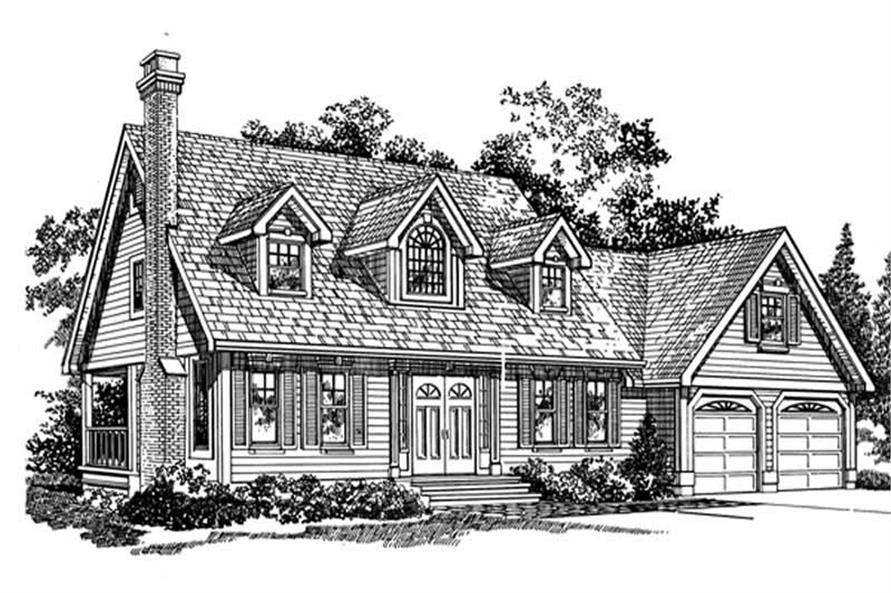 Main image for house plan # 7174