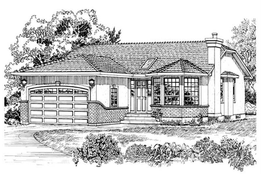 Main image for house plan # 7158