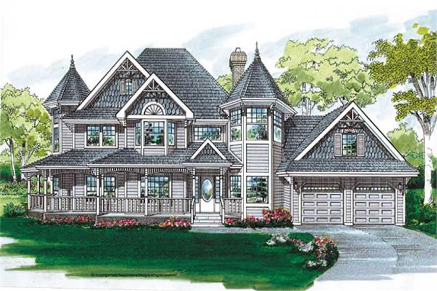 Main image for house plan # 7215