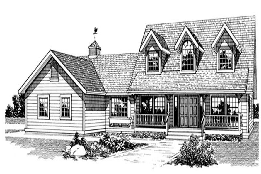 Main image for house plan # 7194