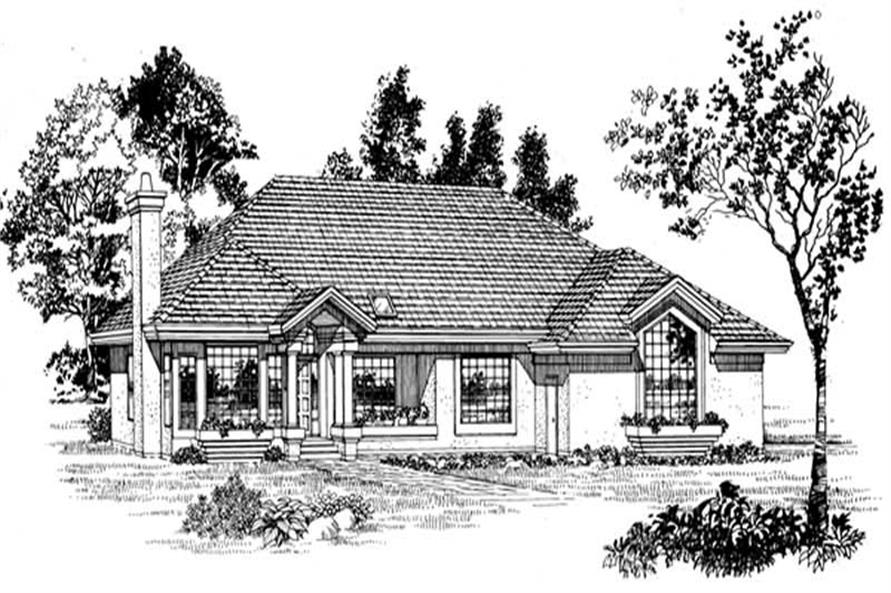 Main image for house plan # 7171