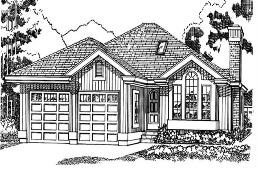Main image for house plan # 7226