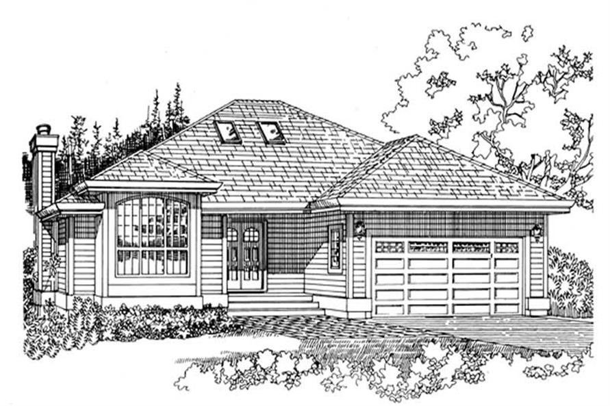 Main image for house plan # 7230