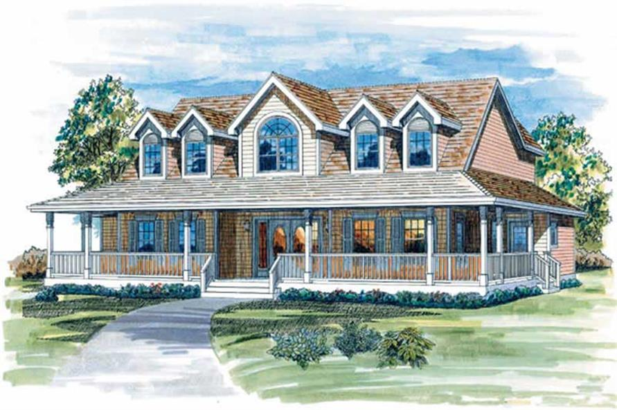 Main image for house plan # 7133