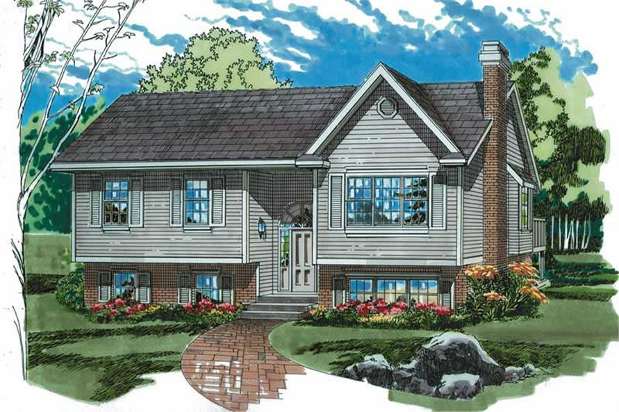 Main image for house plan # 7109