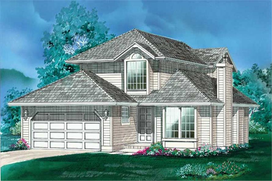 Main image for house plan # 6819