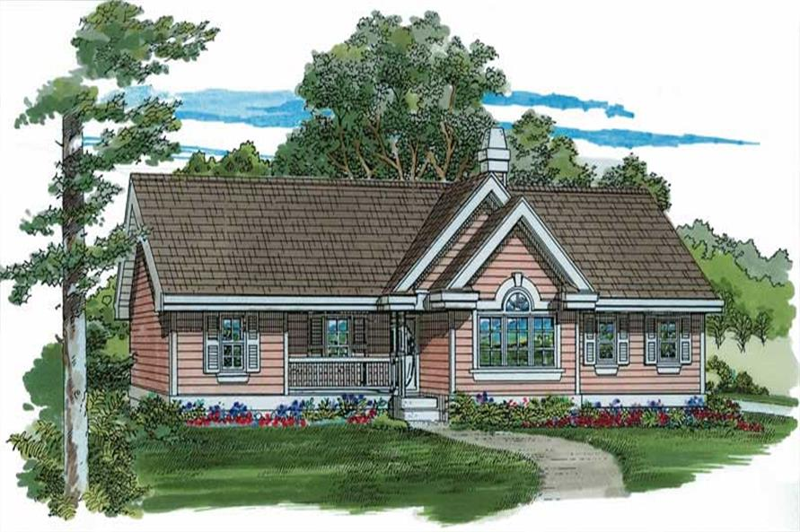 Main image for house plan # 7241