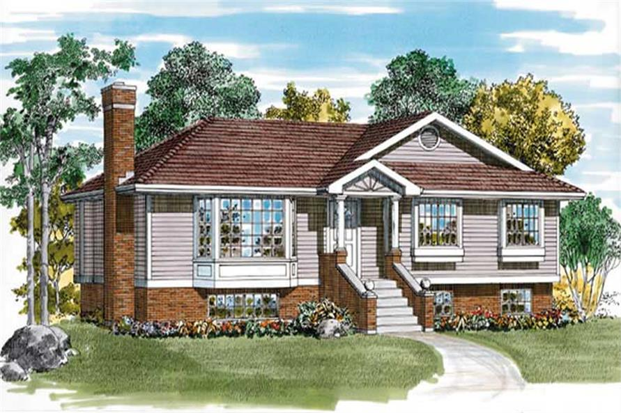 Main image for house plan # 7139