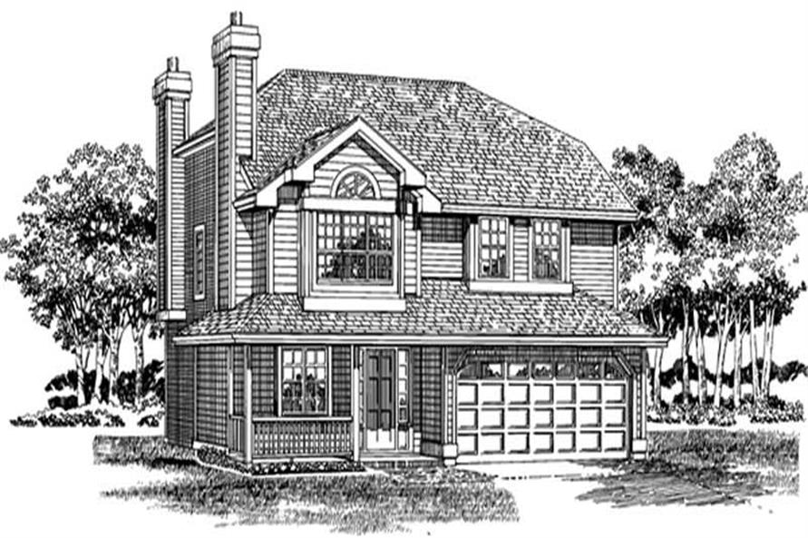 Main image for house plan # 7149