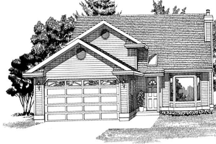 Main image for house plan # 7151