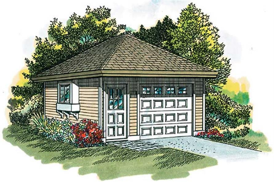 Main image for house plan # 7373
