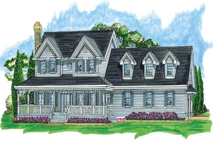 Main image for house plan # 7291