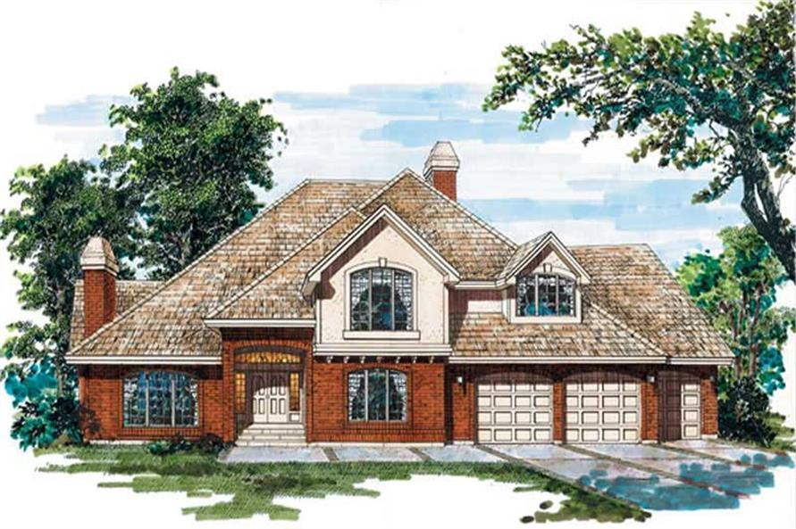 Main image for house plan # 6894