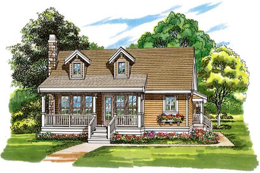 Main image for house plan # 7296