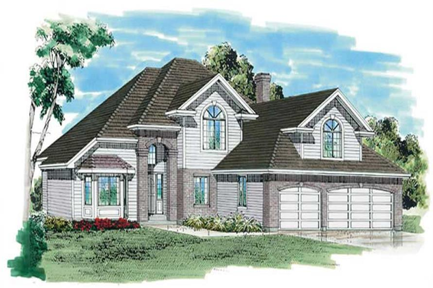 Main image for house plan # 6915