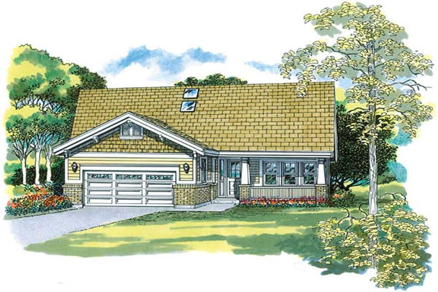 Main image for house plan # 7294