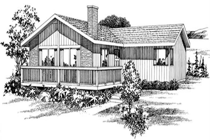 Main image for house plan # 7311