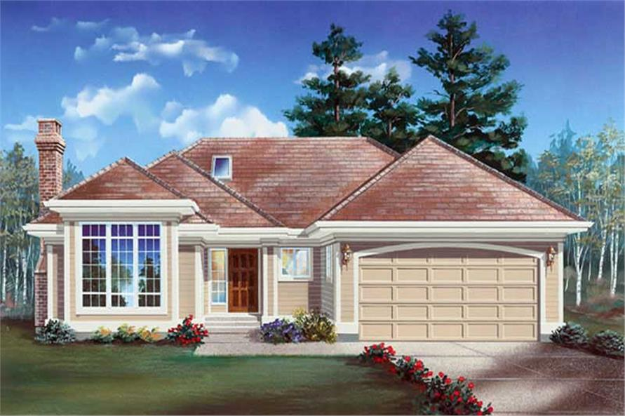 Main image for house plan # 6907