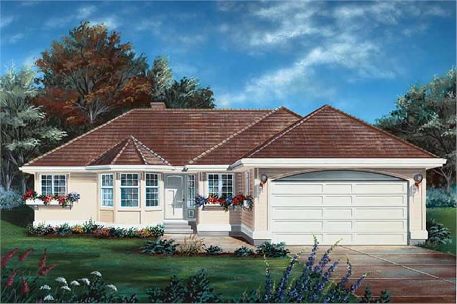 Main image for house plan # 6904