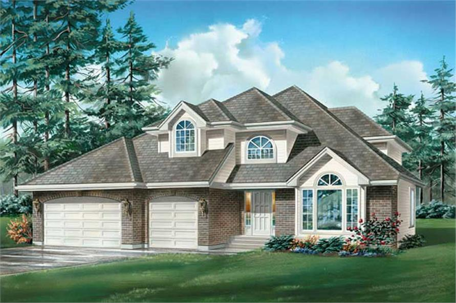 Main image for house plan # 6914