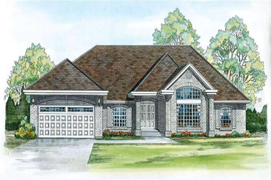 Main image for house plan # 7207