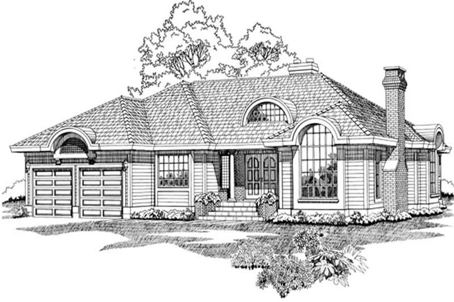 Main image for house plan # 7432