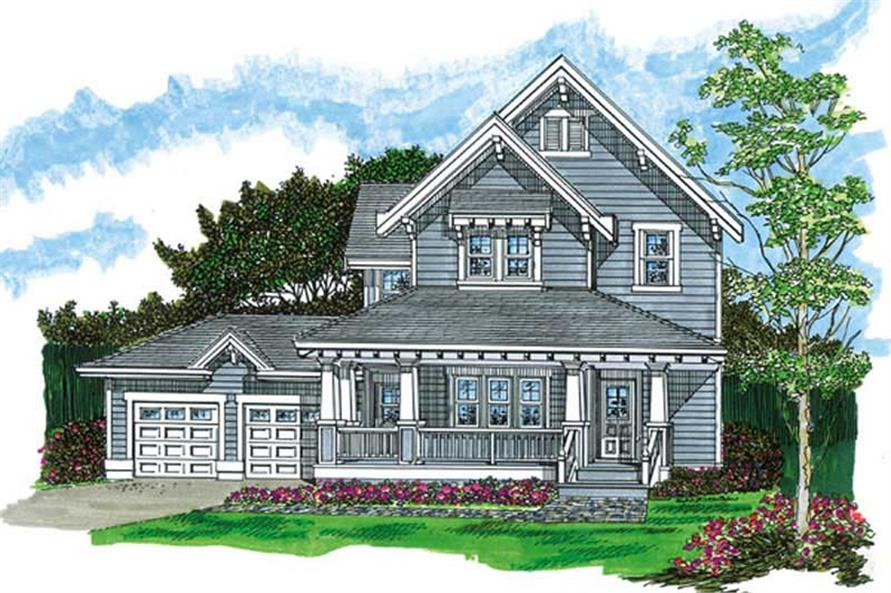 Main image for house plan # 7422