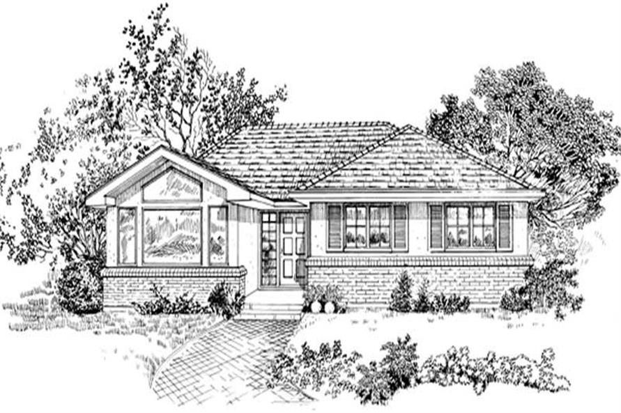Main image for house plan # 7359