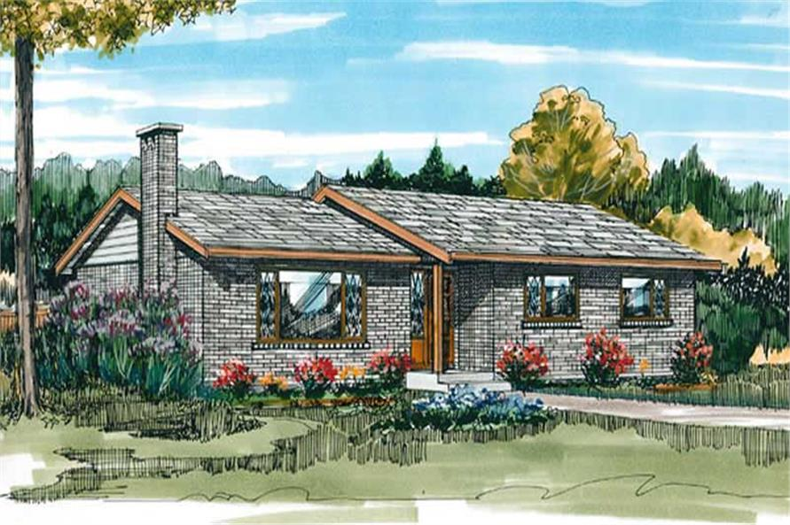 Main image for house plan # 7326