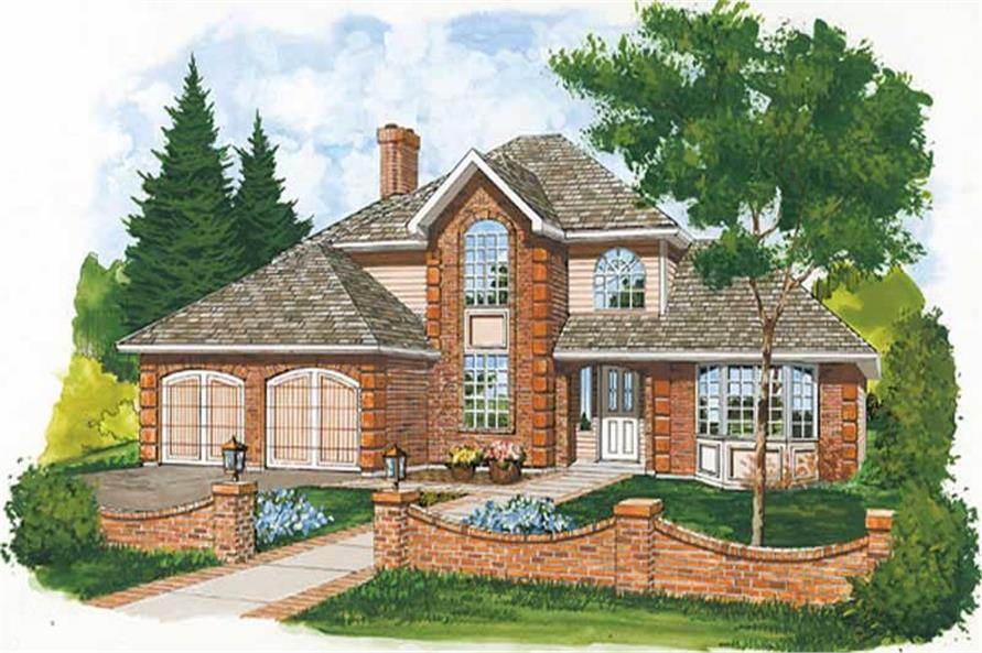 Main image for house plan # 6895