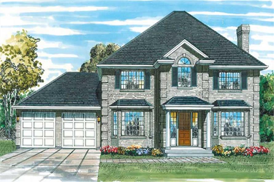 Main image for house plan # 6839