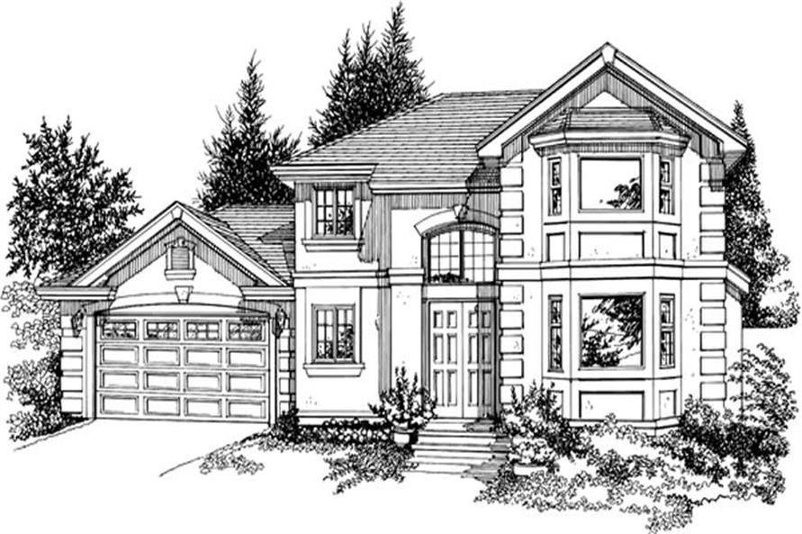 Main image for house plan # 7290