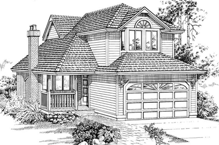 Main image for house plan # 6822