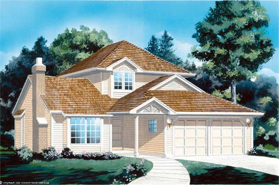 Main image for house plan # 6821
