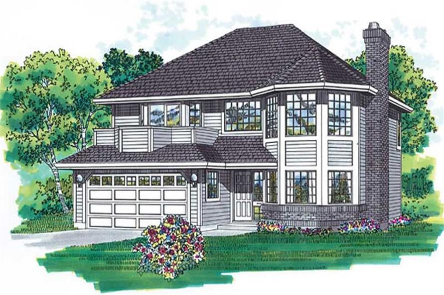 Main image for house plan # 6850