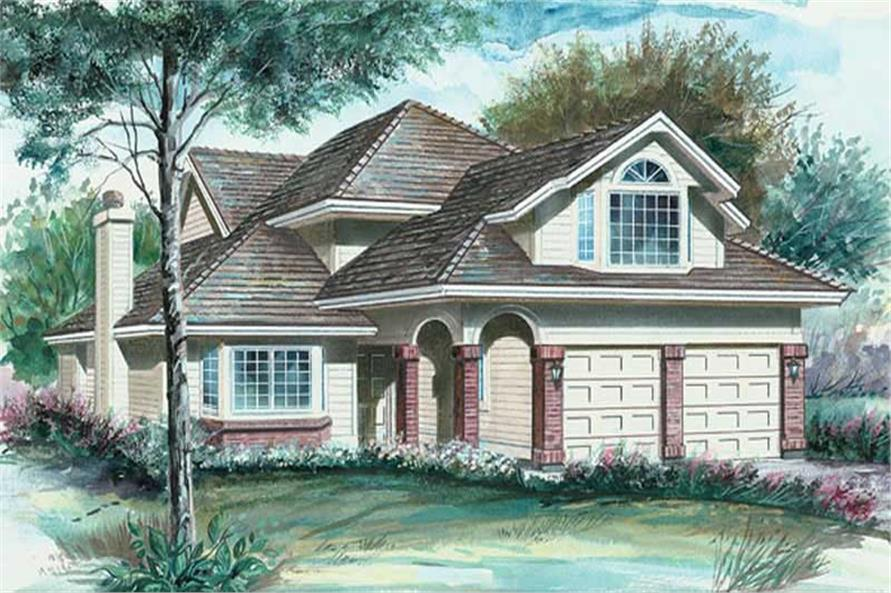 Main image for house plan # 6832
