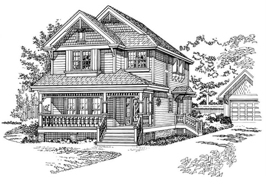 Main image for house plan # 7268