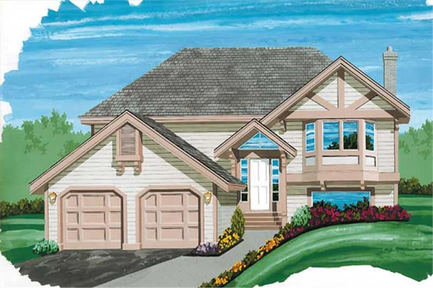 Main image for house plan # 6890
