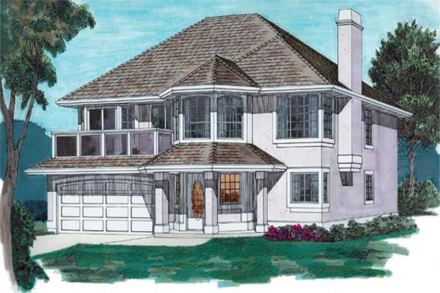 Main image for house plan # 6870
