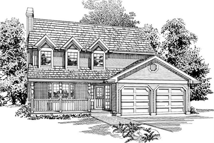 Main image for house plan # 6868