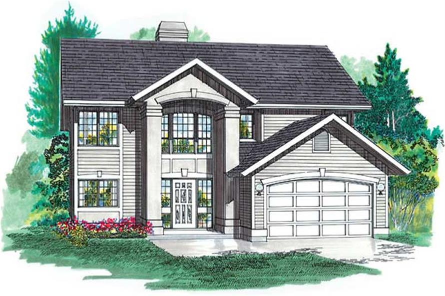 Main image for house plan # 6866